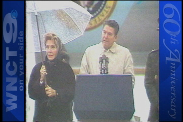 Many important visitors in WNCT's storied history (Image 1)