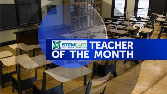 Chicod School's Jody Paramore is STEM Teacher of the Month (Image 1)