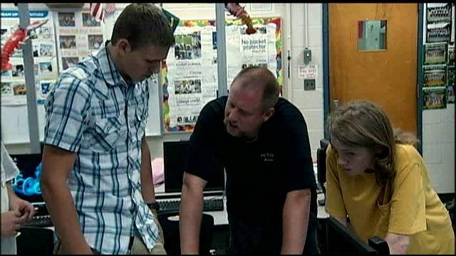 Onslow County teacher honored for STEM Teacher of the Month (Image 1)