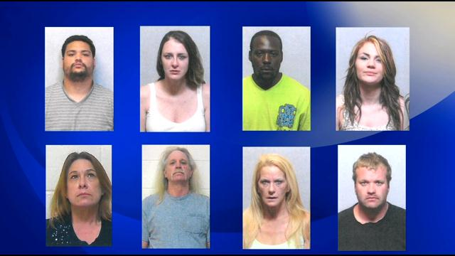 9 arrested in New Bern, Havelock meth crackdown (Image 1)