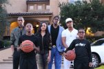"This 2015 photo provided by REELZChannel and Asylum Entertainment shows the Miller Family, from left, Veno, 22; Hercy, 12; Cymphonique, 18; Percy (Master P); Romeo, 25; and Mercy, 10, in Southern California, who star in ""Master P's Family Empire,"" debuting Saturday, Nov. 28, 2015, on REELZ. (Douglas F. Jones/Asylum Entertainment/REELZChannel via AP)"