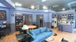 "This June 23, 2015 image from video shows a replica of the set from Jerry Seinfeld's apartment from the NBC sitcom ""Seinfeld,"" in New York, created by the streaming service Hulu. Hulu made all nine seasons available on Wednesday. (AP Photo/Bruce Barton)"