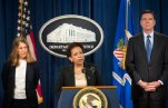 Loretta E. Lynch, Sylvia Burwell, James Comey