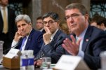 John Kerry, Jacob Lew, Ash Carter