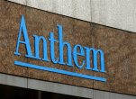FILE - This Wednesday, Dec. 3, 2014, file photo, shows the Anthem logo at the company's corporate headquarters in Indianapolis. Health insurer Anthem reports quarterly financial results on Wednesday, July 28, 2015. (AP Photo/Darron Cummings, File)