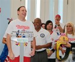 Eric Adams, Joey Chestnut