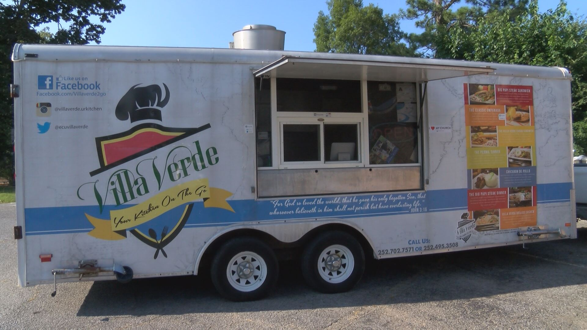 Villa Verde Will Continue Operating Its Food Truck.  Craigslist Greenville