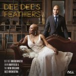 """This CD cover image released by OKeh/Sony Music/DDB Records shows """"Dee Dee's Feathers,"""" the latest release by Dee Dee Bridgewater. (OKeh/Sony Music/DDB Records via AP)"""