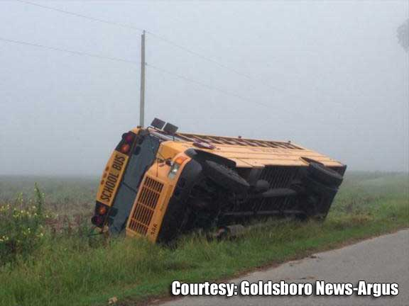 New Info: Driver charged in Wayne Co  school bus accident – WNCT