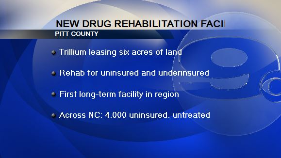 Plans finalized for new Pitt Co. drug, alcohol rehab facility - WNCT