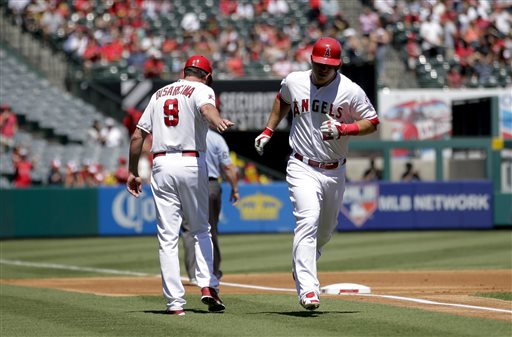 Mike Trout, Gary DiSarcina