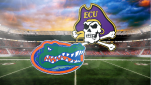 ECU takes on Florida in Gainesville for their first away game.