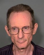 This Clark County Detention Center photo of Oct. 2, 2015, shows Rick Van Thiel, 52, of Las Vegas. Van Thiel, a convicted felon in Nevada and California, is accused of practicing medicine without a license in Las Vegas. Police say a search of a trailer he used found records suggesting he had more than 100 patients and treated people for pregnancies, cancer, sexually transmitted diseases and even tooth extractions. (Las Vegas Metropolitan Police Department via AP)