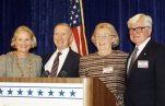 Ross Perot, Margot Perot, James Stockdale, Sybil Bailey Stockdale
