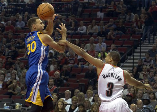 Stephen Curry, C.J. McCollum