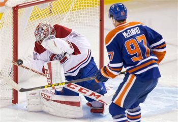 Carey Price, Connor McDavid