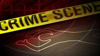 Crime-Scene-Tape--(Shooting-with-Chalk-Outline)