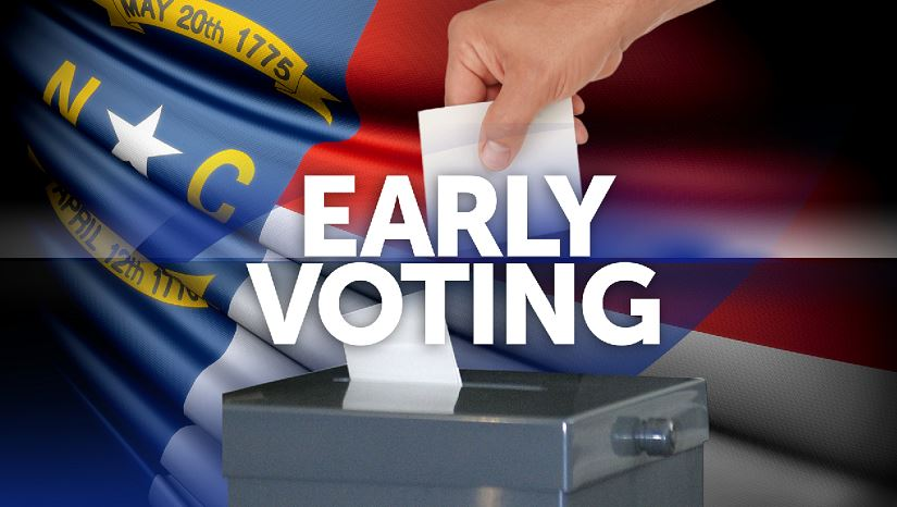Early voting begins across North Carolina