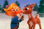 "This image provided by CBS shows a scene from the holiday classic, ""Rudolph the Red-Nosed Reindeer,"" airing Tuesday, Dec. 1, 2015,  8:00-9:00 p.m., ET/PT, on the CBS Television Network.  (CBS/Classic Media via AP) MANDATORY CREDIT; NO ARCHIVE; NO SALES; FOR NORTH AMERICAN USE ONLY."