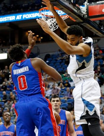 Karl-Anthony Towns, Andre Drummond