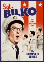 "This image provided by Shout! Factory shows the cover of the DVD boxed set of ""Sgt. Bilko/The Phil Silvers Show (The Complete Series).""  (Shout! Factory via AP)"