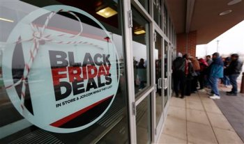 Black Friday Sales, Shoppers, J.C. Penny