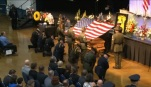 The memorial for Sgt. Jason Goodding, Feb. 12, 2016 (KOIN)