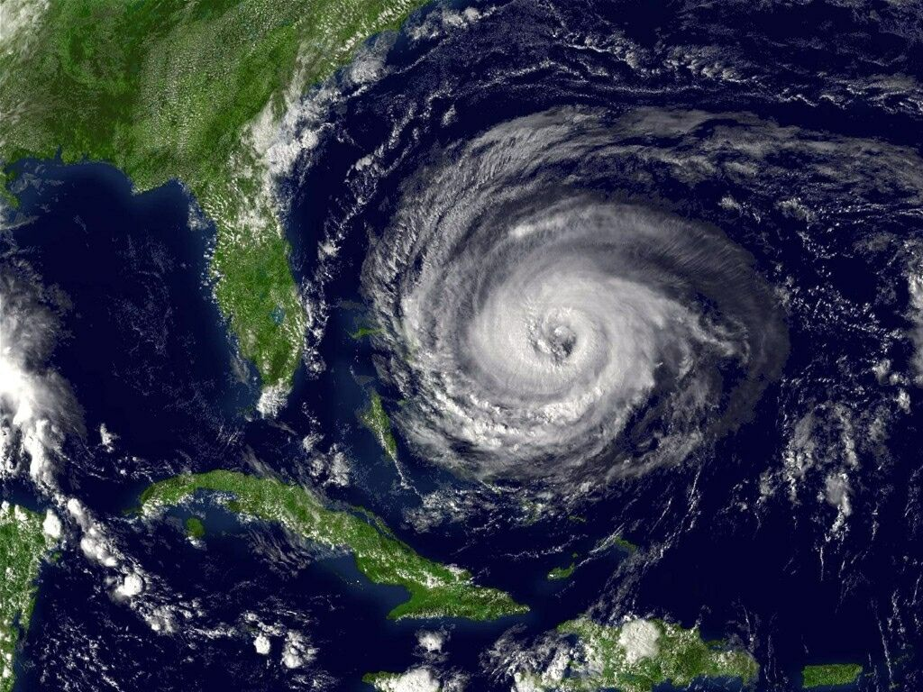 Hurricanes usually weaken and get ripped apart with higher elevation ...