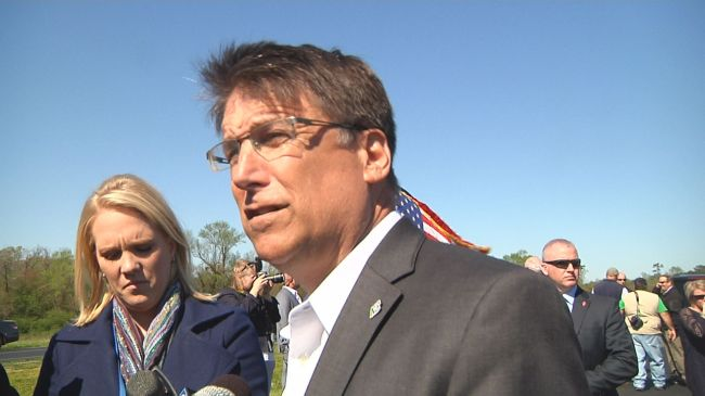 mccrory responds to hb2
