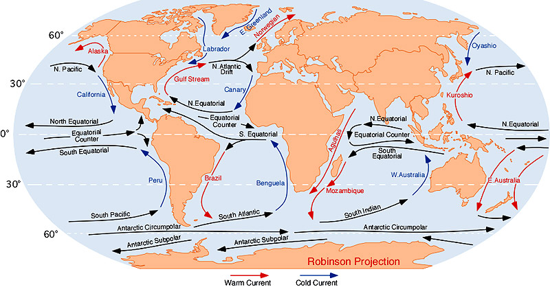 The Labrador Current And Gulf Stream Usually Meet Right Around The Cape Hatteras Area The Clash Between The Cold And Warm Waters Creates Very Rough Waters