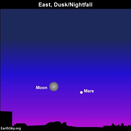 See Mars Tonight: Red Planet Visible Over Bethel Sunday Night