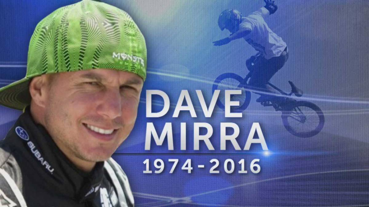 BMX star Dave Mirra's brain showed signs of CTE