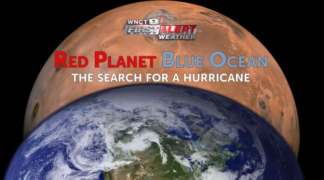 RED PLANET; BLUE OCEAN