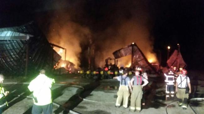 Investigation underway after Pitt County barn fire