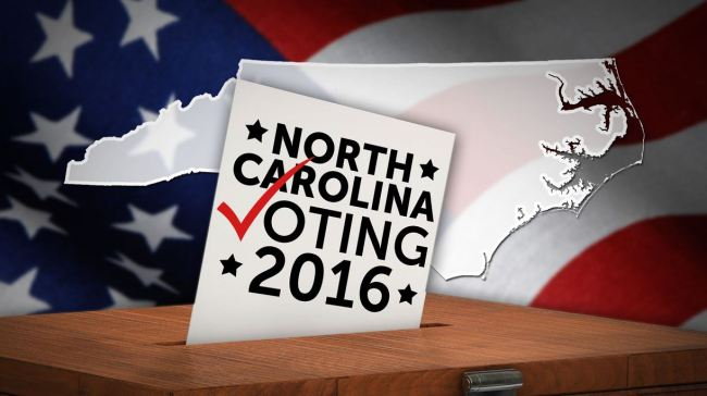 north carolina voting