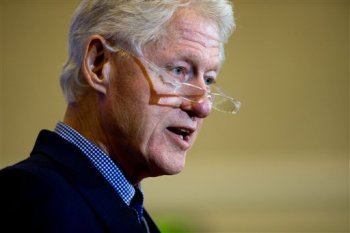 Former President Bill Clinton, shown in a January 2016 file photo, will headline Day 2 of the Democratic National Convention on Tuesday, July 26, 2016. (AP file)