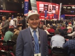 "RNC delegate Jack Pickett, 18, of Washington calls technology ""absolutely vital"" to future political success.  (Photo: Chance Seales)"