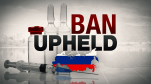 Olympic Ban Upheld Russia Doping