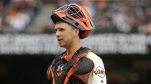 San Francisco Giants catcher Buster Posey, shown in an April 2016 file photo, went viral over the weekend after a fluke play during Saturday's game against Arizona. (AP file)