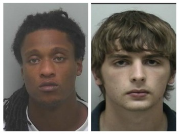 Jerrell Wiggins (left) and Zack Sparrow (right)