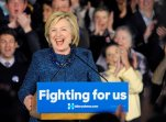 Democratic presidential candidate Hillary Clinton speaks during campaign at the Oklahoma Jazz Hall of Fame in Tulsa, Okla., Friday, Dec. 11, 2015. (AP Photo/Brandi Simons)