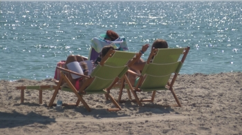 The number of tourists increased this summer at North Carolina's beaches.