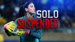 Hope Solo Suspended