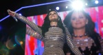 Singer Katy Perry performs during the final day of the Democratic National Convention in Philadelphia, Thursday, July 28, 2016. (AP Photo/Carolyn Kaster)