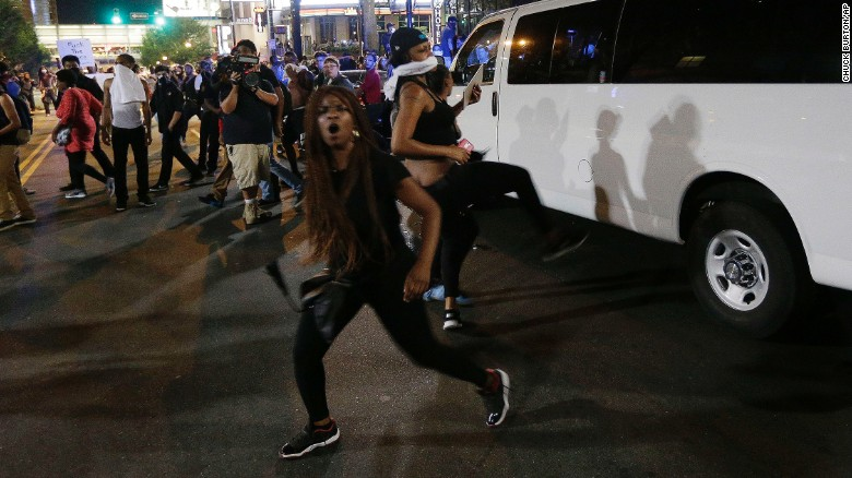 At Least 1 Person Shot During Second Night of Charlotte Protests