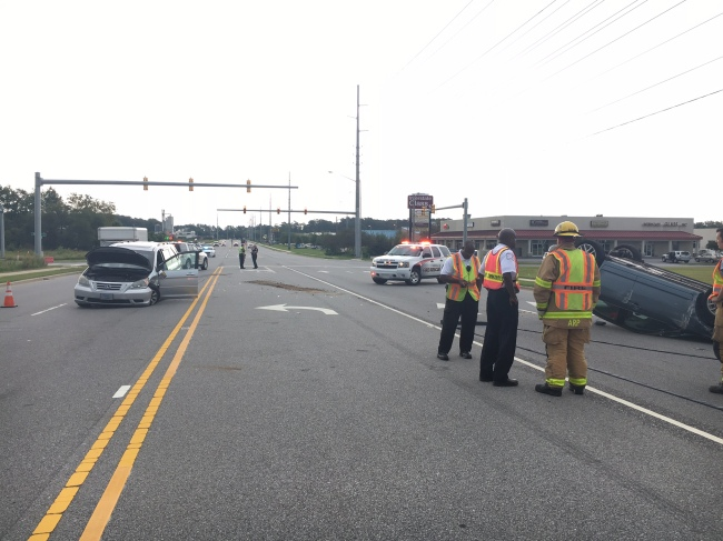 Two taken to Vidant with minor injuries after Firetower Road wreck