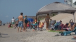 People hit the sand at North Topsail Beach to enjoy the unofficial last day of summer.