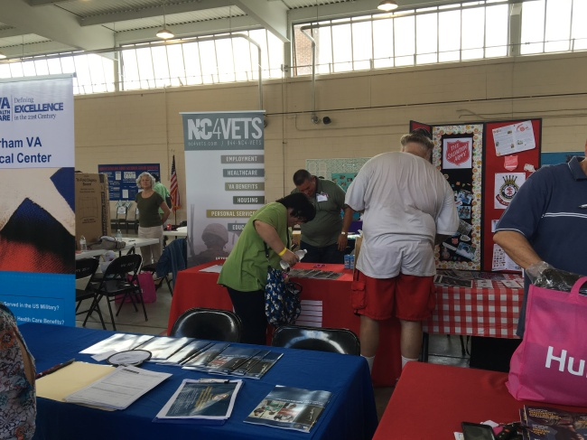 Veterans Stand Down in New Bern helps out homeless veterans