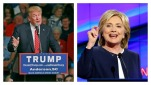 Trump, Clinton battle it out in 2016's new social media landscape. (AP file)