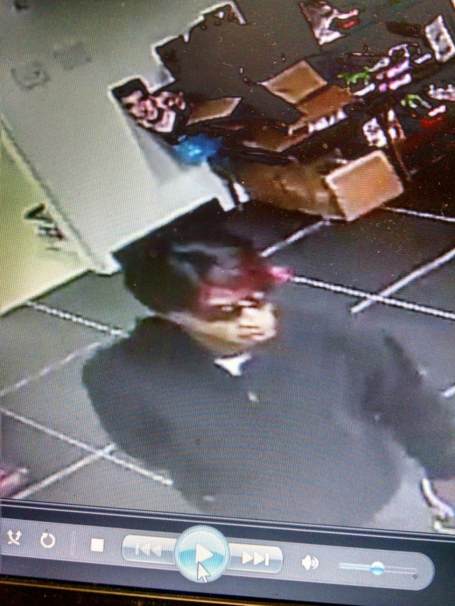 Greenville police ask public's help identifying Cricket Wireless robbery suspect